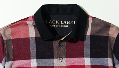97828f7c7 CRESTBRIDGE plaid polo shirt